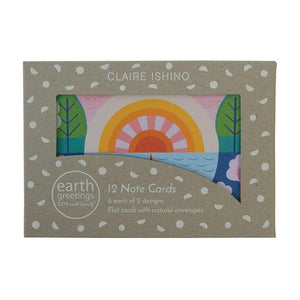 Look to the Light  Note Cards by Earth Greetings