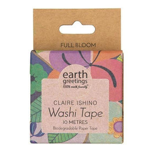 Claire Ishino (Full Bloom) Washi Tape by Earth Greetings