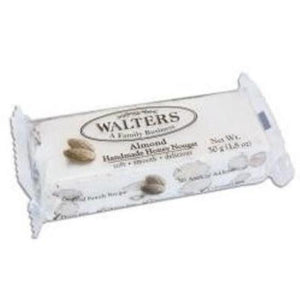 Walters Honey Almond Nougat 50g
