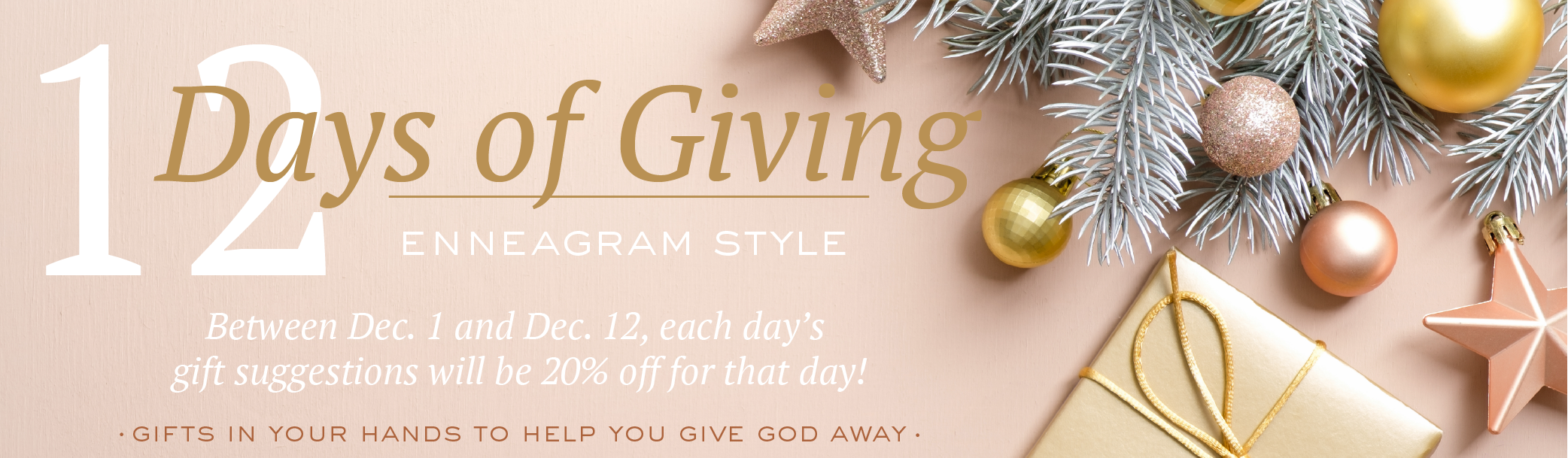 12 Days of Giving Enneagram gift guide