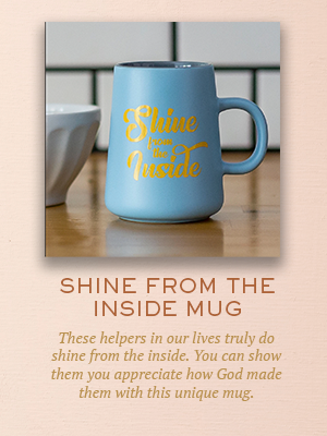 Shine From the Inside Mug | Christmas gifts for Enneagram Type 2