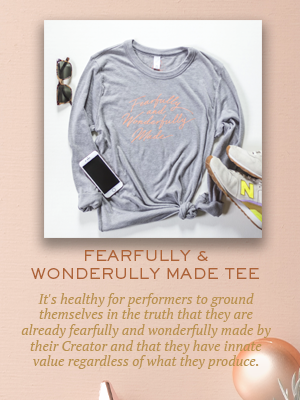 Fearfully Wonderfully Made long sleeve tee | Christmas gifts for Enneagram Type 3
