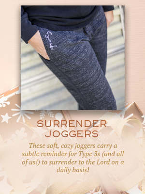Surrender Joggers | Christmas gifts for Enneagram Type 3