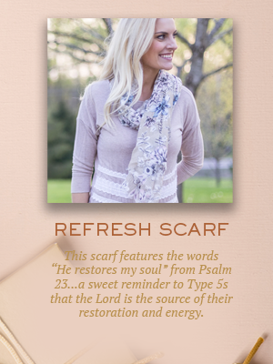 Refresh Scarf | Christmas gifts for Enneagram Type 5