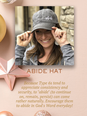 Abide hat | Christmas gifts for Enneagram Type 6s