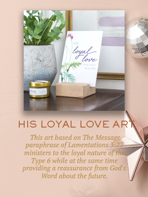 His Loyal Love art | Christmas gifts for Enneagram Type 6s