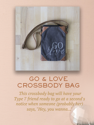 Go & Love Crossbody Bag | Christmas gifts for Enneagram Type 7