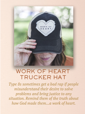 Work of Heart trucker hat | Christmas gifts for Enneagram Type 8s