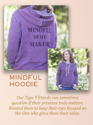 Mindful of My Maker hoodie | Christmas gifts for Enneagram Type 9