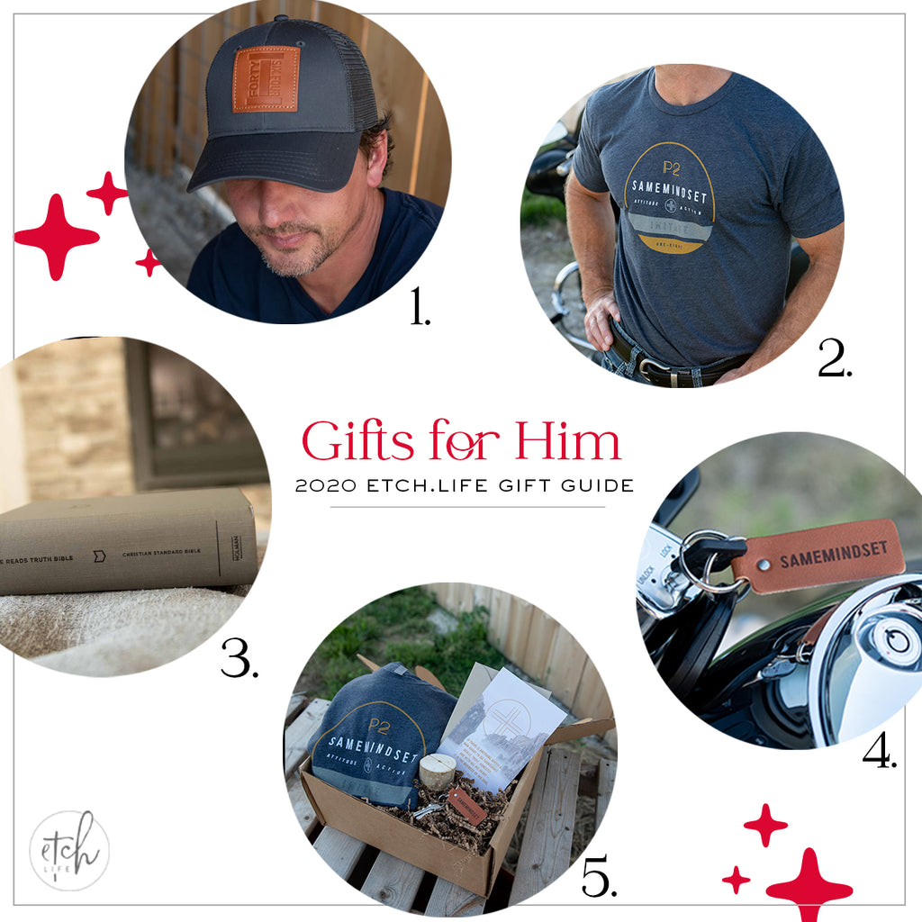 EtchLife Gift Guide Gifts for Him