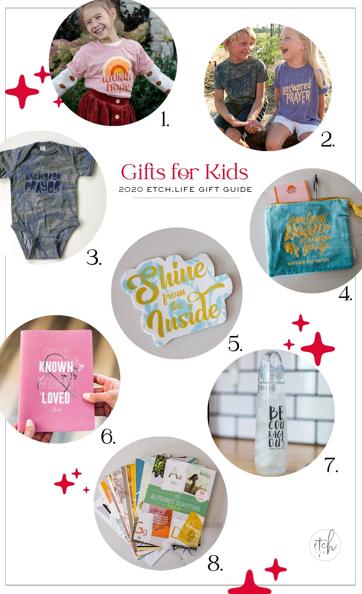EtchLife Gift Guide Gifts for Kids