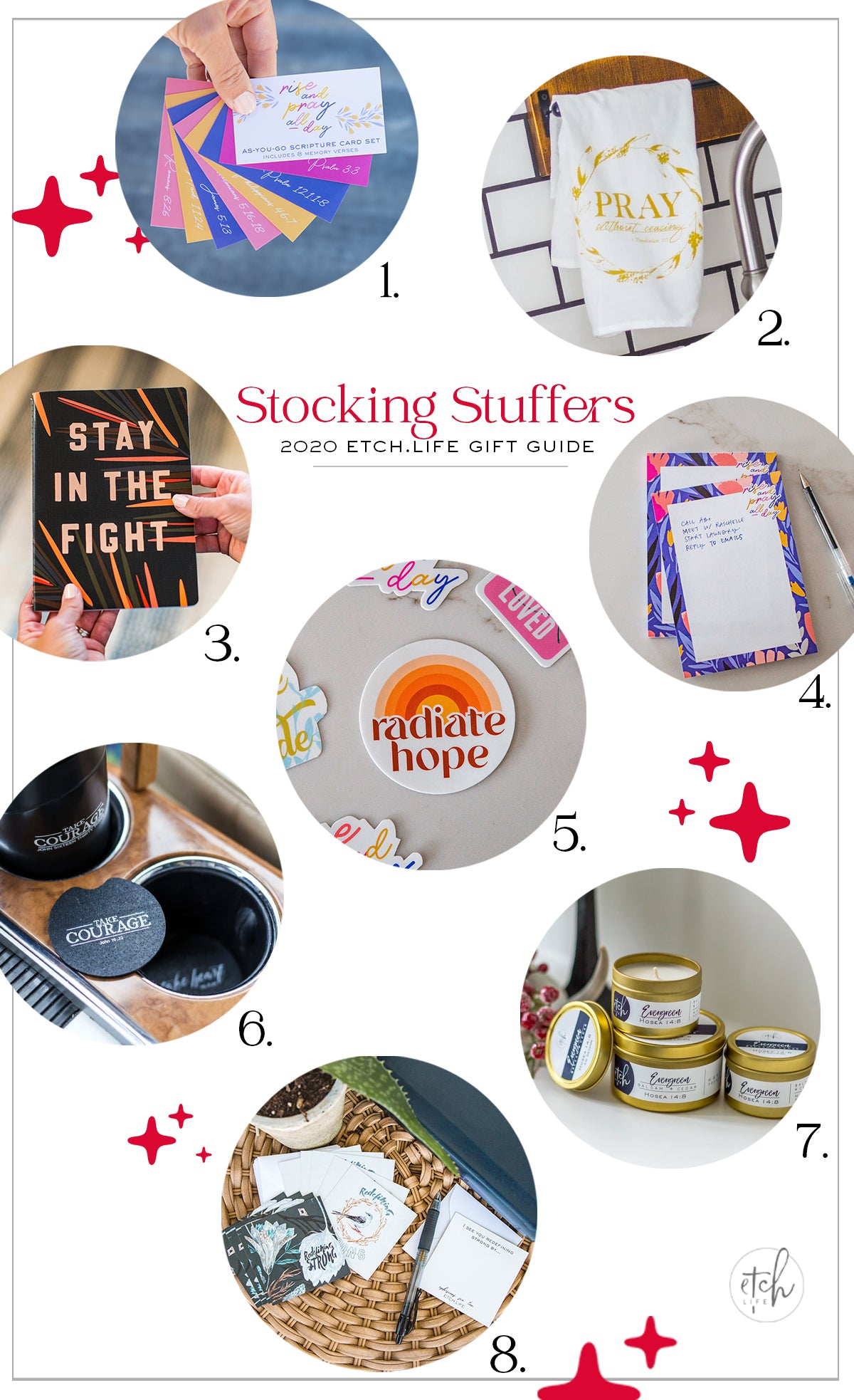 EtchLife Gift Guide Stocking Stuffers