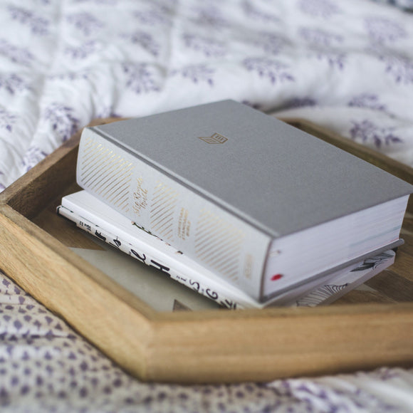 BIBLE | She Reads Truth | Grey Linen Hardcover | CSB Translation - EtchLife