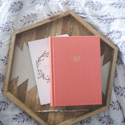 BIBLE | She Reads Truth | Poppy Linen Hardcover | CSB Translation