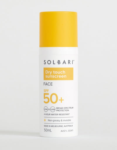 Solbari Dry Touch SPF50+ Face Sunscreen, 50ml
