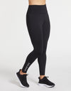 Solbari Sun Protection Women UPF50+ On The Move Essential Leggings in Black Luxe Performance Collection