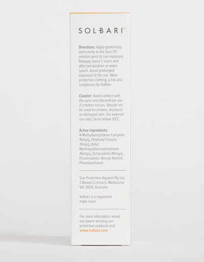 Solbari Dry Touch SPF50+ Body Sunscreen