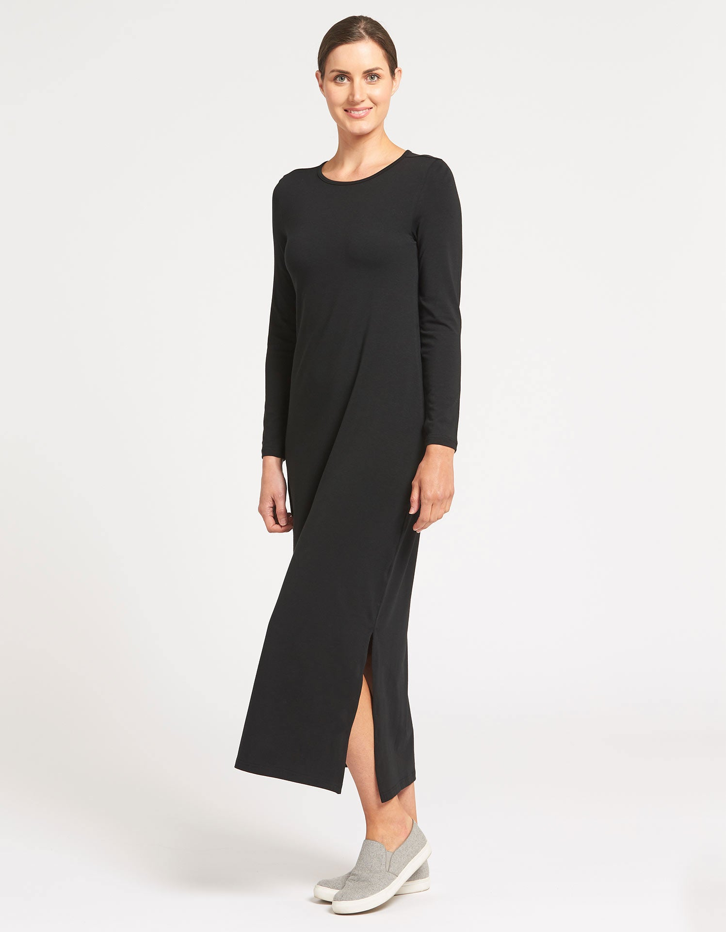 Long Sleeve Maxi Dress UPF 50+ Sensitive Collection