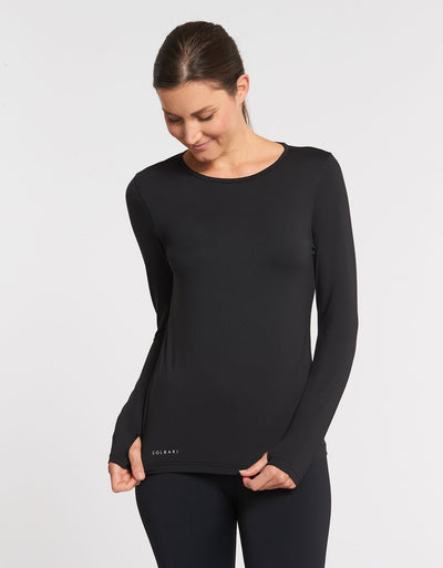 Long Sleeve T-Shirt UPF50+ Active Collection for Women in Black