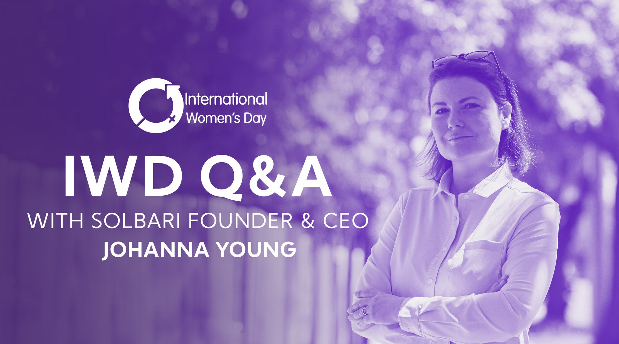 International Women's Day - Q&A With Johanna Young