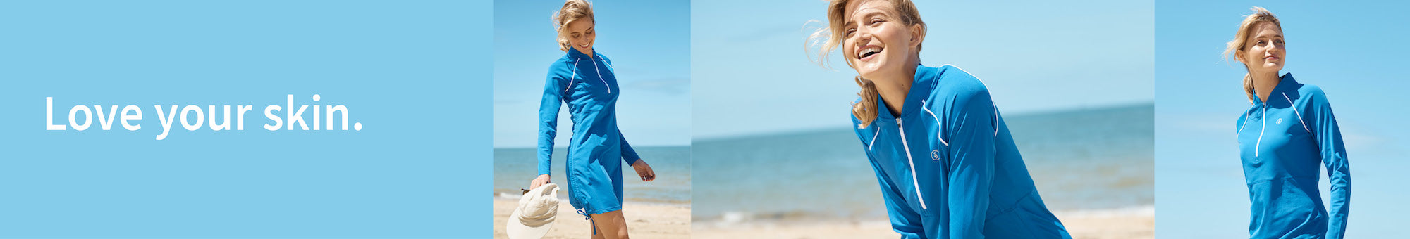 Sun protection for beach and water sports