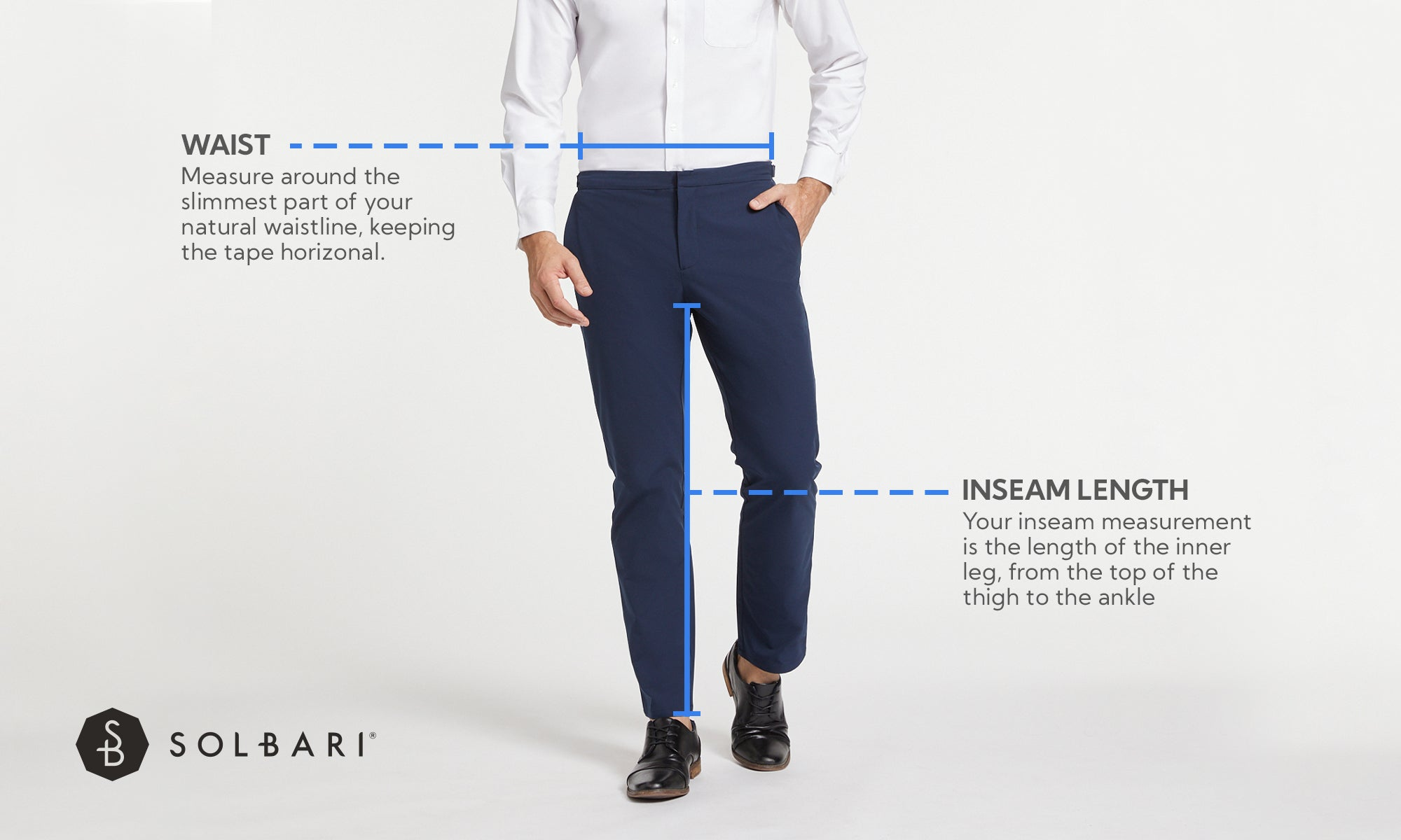 Mens trouser Size Guide