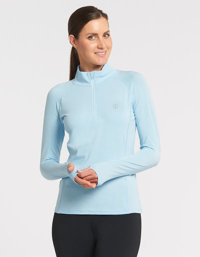 Quarter Zip Top UPF50+ Sensitive Collection