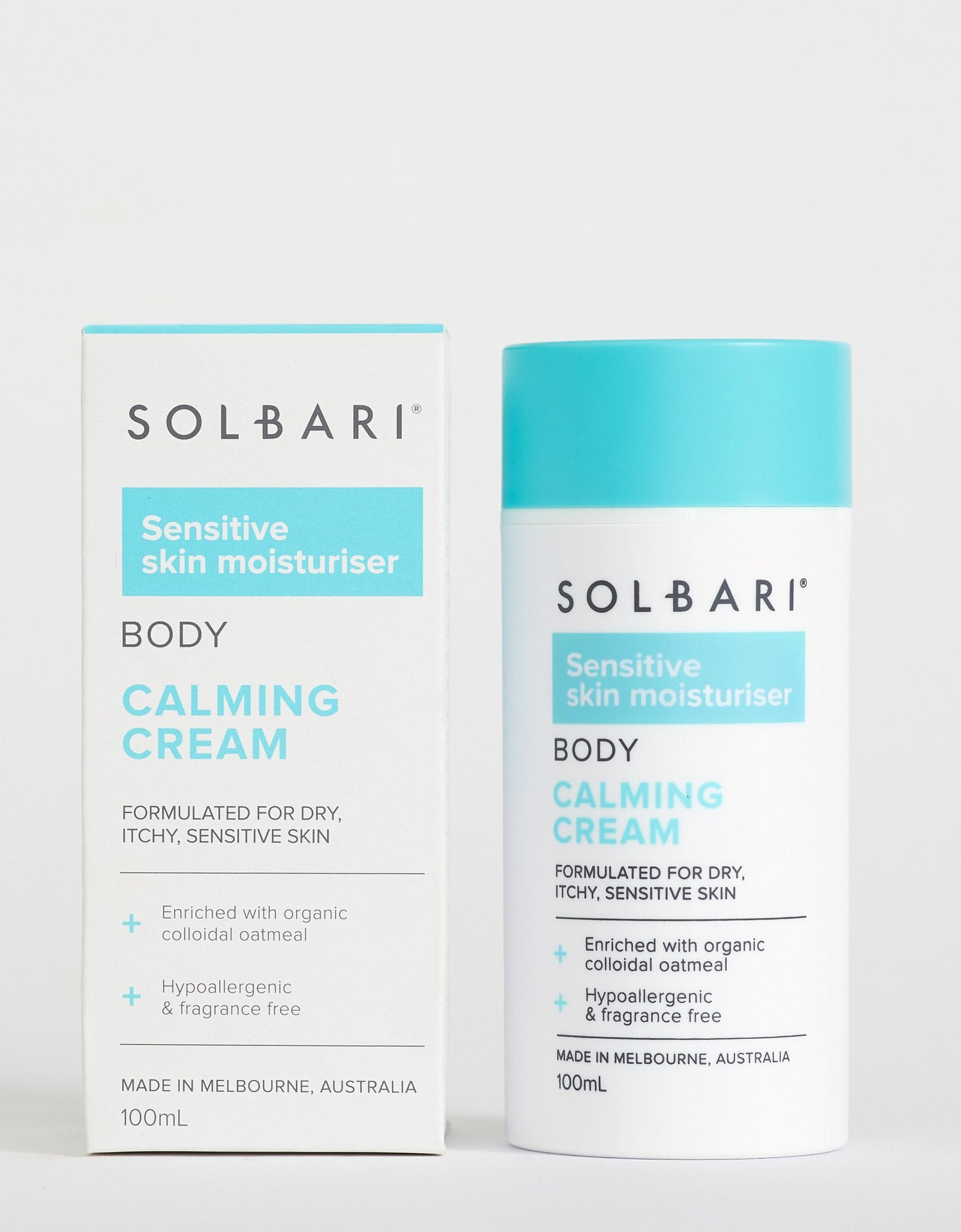 Sensitive Skin Calming Cream for Body, 100ml