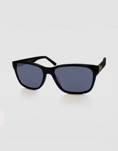 Solbari Sun Protection UV Protective Sunglasses Black Mens