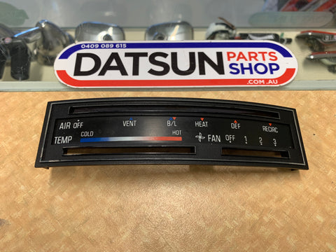 Datsun Stanza Fan Control Panel Used Nissan Pa10