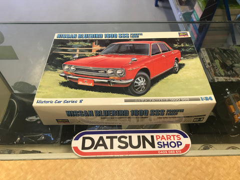 Nissan Bluebird 1600 SSS 1:24 Model Kit Datsun 510