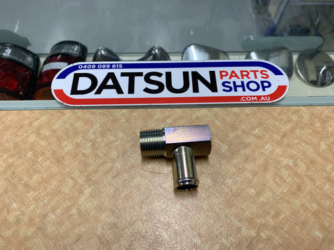 Datsun Nissan L Series 6 cylinder Head Water Fitting New Genuine
