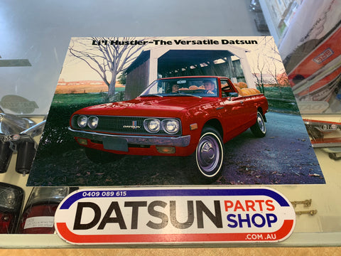Li'l Hustler Booklet Datsun 620 Ute Pick Up Used