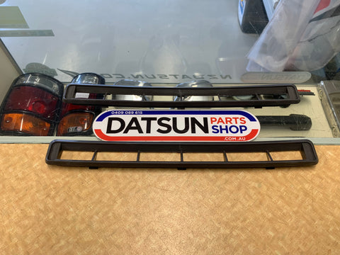 Datsun 1200 Ute Grey Demister Vent Grill Pair New Genuine