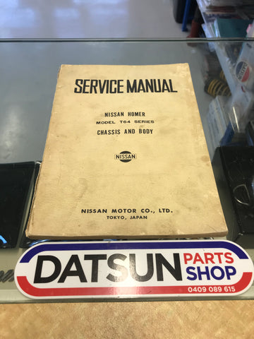 Nissan Homer T64 Service Manual Used