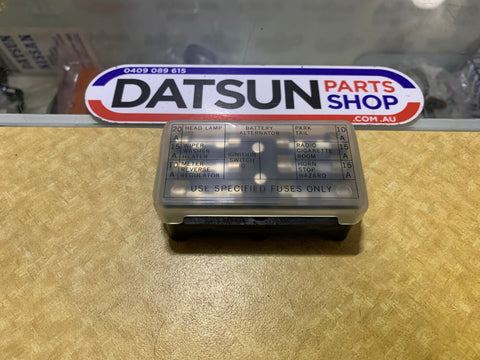 Datsun 1200 Fuse Box New Old Stock Genuine
