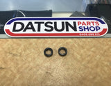 Datsun 1600 Door Lock Pull Surrounds New Pair Genuine