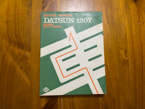 Datsun 120Y Service Manual Genuine Nissan B210 Used