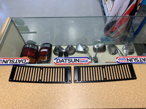 Datsun 1200 Cowl Panel Grill Pair New Old Stock Genuine Nissan