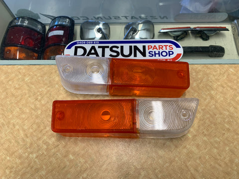Datsun 1600 Combo Light Lenes Pair Aftermarket