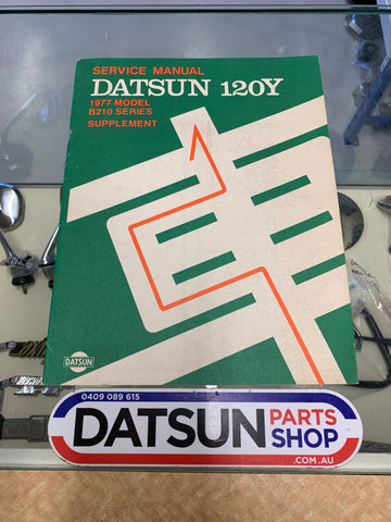 Datsun 120Y 1977 Service Manual Supplement B210 Used