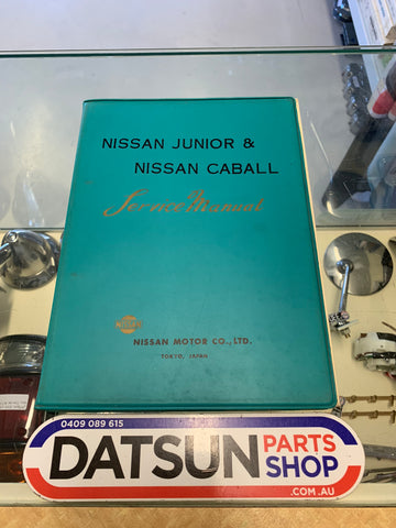 Nissan Junior 40 & Caball C142 Service Manual Used