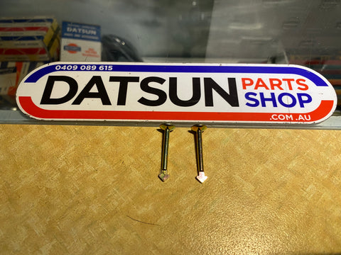 Datsun 1200 Ute Rear Brake Shoe Retainer Pin Pair Nissan Genuine New