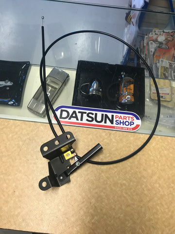 Datsun 1200 Bonnet Cable New Genuine Fits all 1970-2008
