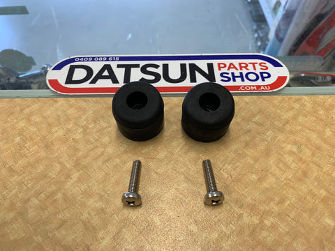 Datsun 1200 Ute Tail Gate Bump Stop Pair New Genuine