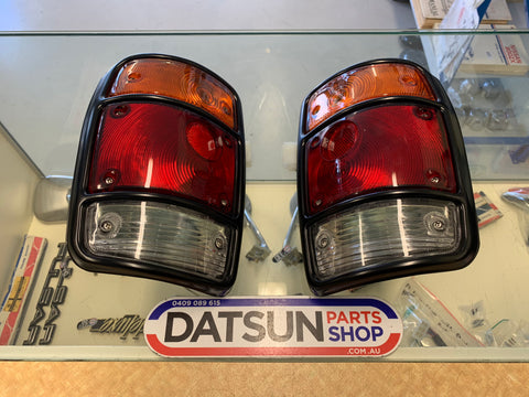 Datsun 1200 Ute Tail Light Pair Genuine New