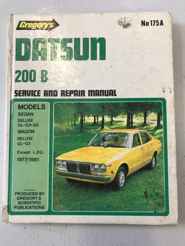 Gregory book - Datsun 200 b