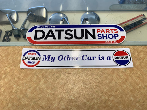My Other Car Is A Datsun Sticker