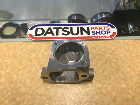 Datsun L Series Thermostat Housing Base New Genuine
