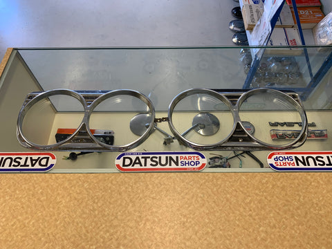 Datsun 1600 510 Head Light Surround Pair 1970-73 Used